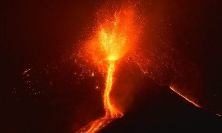 Italy's Mount Etna Erupts in Fiery Show [VIDEO]