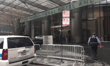 Screaming Man Made Bomb Threat Outside Trump Tower (911 Audio)