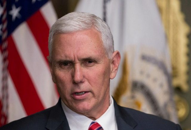 """Vice President Assures """"World Will Know America Stands with Israel"""""""