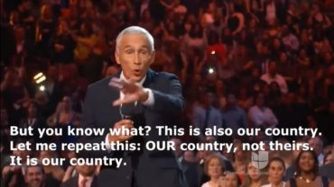 "Univision's Jorge Ramos Tells Latinos America Is ""Our Country, Not Theirs"" (VIDEO)"