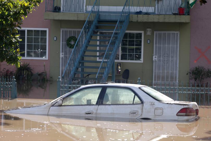 Flooded Homes Street San Jose