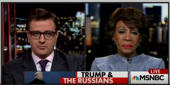 "Democrat Maxine Waters Calls Trump Cabinet Picks: ""A Bunch of Scumbags"" (VIDEO)"