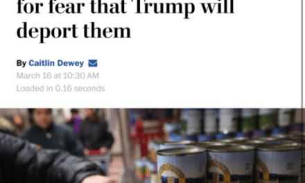 Washington Post Changes Headline About Illegals (Illegally) On Food Stamps