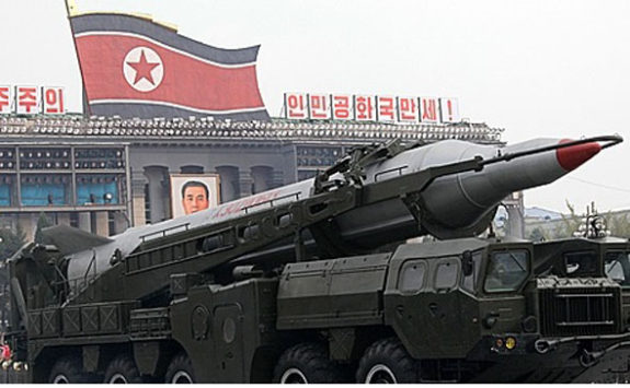 NORTH KOREA FIRES MISSILES AT JAPAN — Explodes Seconds After Launch