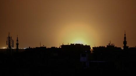 Arab Media Claims Israeli Airstrike Hit Damascus Airport