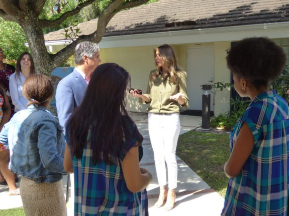 First Lady Melania Trump's Visit to Home for Abused Girls Goes Unreported