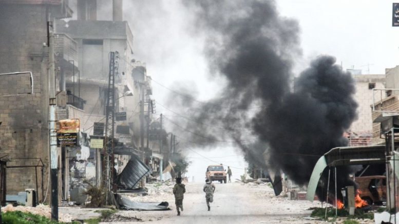 New Chemical Attack Reported in Syria Leaving Numerous Casualties.