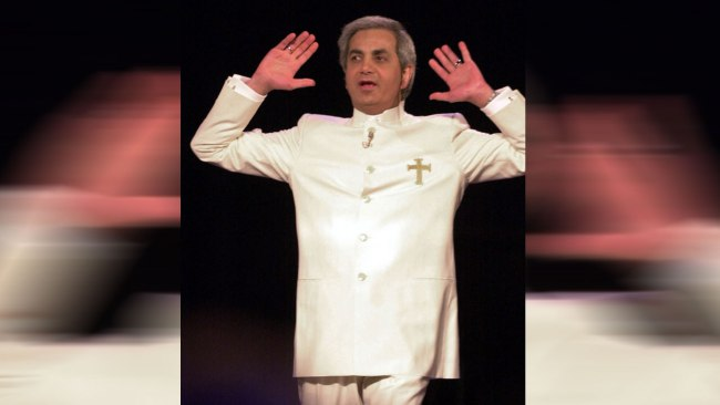 IRS raids televangelist Benny Hinn's office in Texas