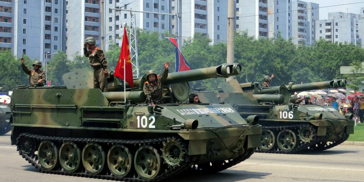 North Korea carries out massive live-fire drills…