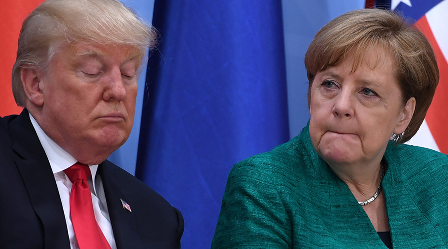 Merkel Warns that Germany 'will not automatically side with US' in war with North Korea