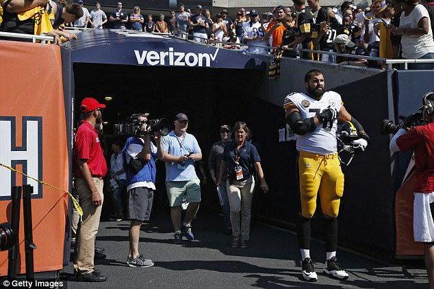 Villanueva Claims He 'Unintentionally' Walked Out of the Tunnel, Meant to Remain Off the Field with the Steelers During the Anthem