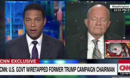 Former Spy Chief James Clapper on CNN: 'It's Possible' President Trump's Voice Recorded in Paul Manafort Wiretap (VIDEO)