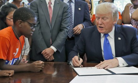 Trump directs $200 million to tech education for women and minorities