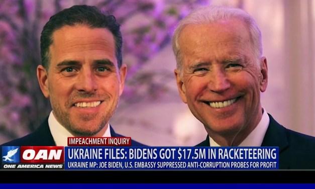 Ukraine Files: Joe and Hunter Biden got $17.5 million in racketeering