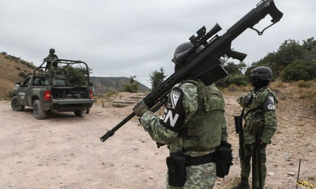Mexico gunbattle near Texas border between suspected cartel members, police leaves at least 21 dead