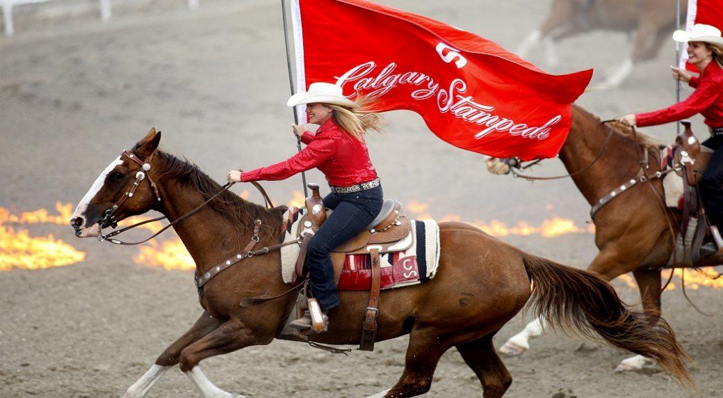 Calgary Stampede 2019  Blazing Saddle Western Display