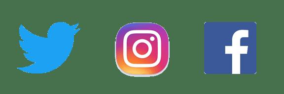 Join us on Facebook, Twitter, & Now, Instagram!