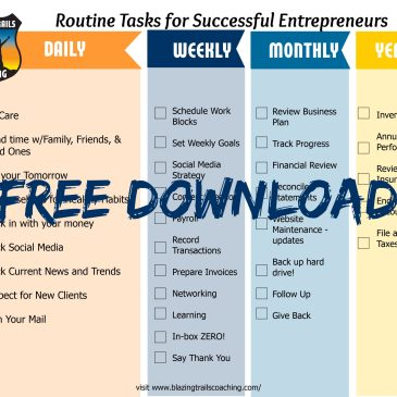How to Establish Succcessful Routines for Your Small Business