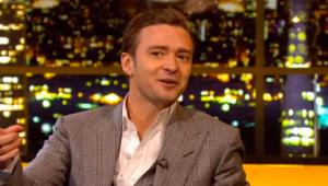 Justin Timberlake On The Jonathan Ross Show