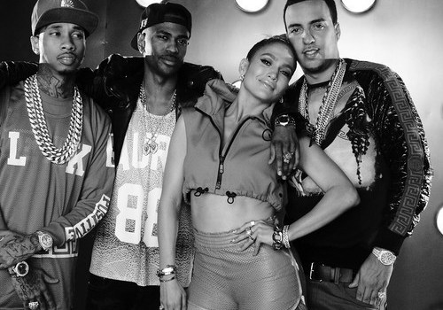 "Jennifer Lopez Ft. French Montana, Big Sean & Tyga ""I Luh Ya Papi (DJ Khaled Remix)"""