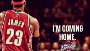 Lebron James Going back to Cleveland