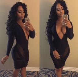 Ayisha Diaz in Black