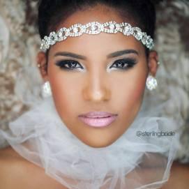 Model Biance Nolden eyes