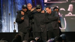 N.W.A. Inducted Into the Rock & Roll Hall of Fame