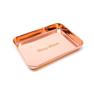Rose Gold Stainless Steel Rolling Tray