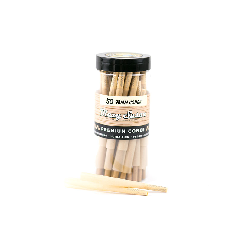 Unbleached Pre Rolled Cones - 50 Count