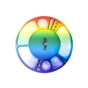 Rainbow Blazy Susan Spinning Rolling Tray