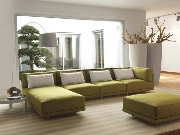 Modern Dennis Sectional Sofa Bed Design