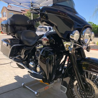 Fresno Mobile Detailing | Clean Motorcycle