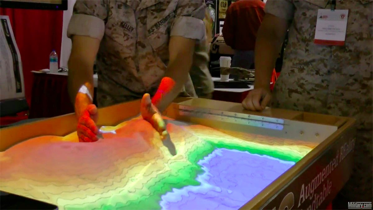 Touchscreen Landscapes