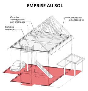 transf rer de l emprise au sol ces est ce possible. Black Bedroom Furniture Sets. Home Design Ideas