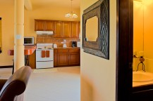 Barrier Reef Resort # A202 - View of kitchen from hallway