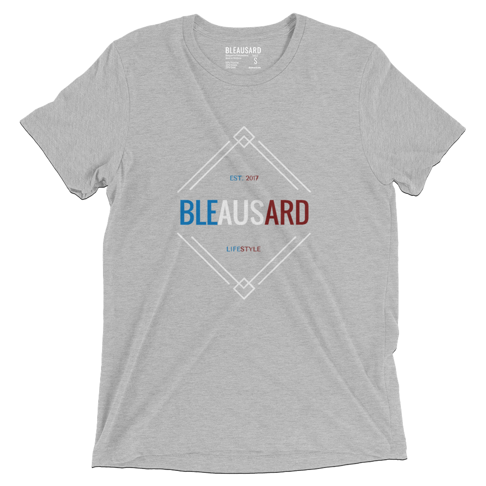 T-shirt French Flag gris