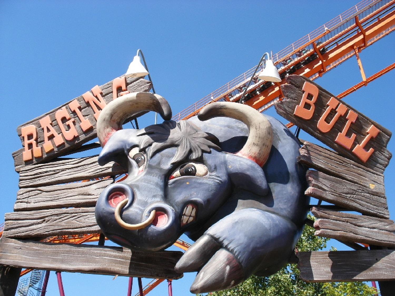Six Flags Great America  Raging Bull  Bleck  Bleck