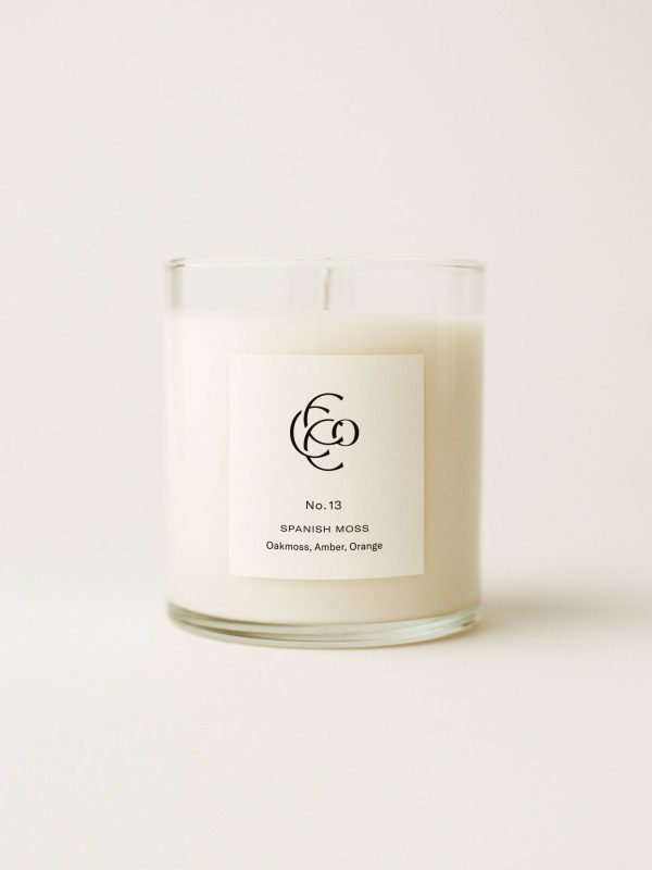 Spanish Moss Hand Poured Soy Candle 9 oz.