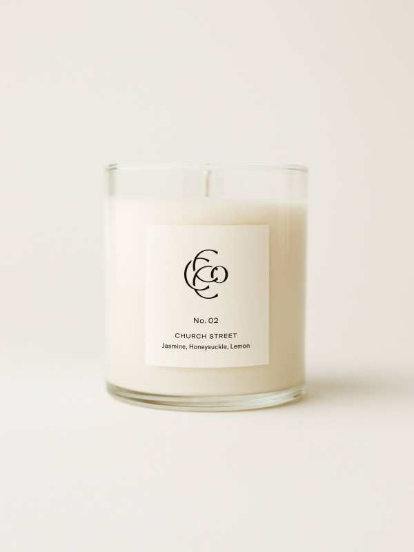 Church Street Hand Poured Soy Candle 9 oz.