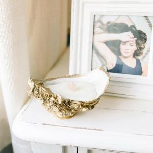 Oyster Shell Candle - Unscented