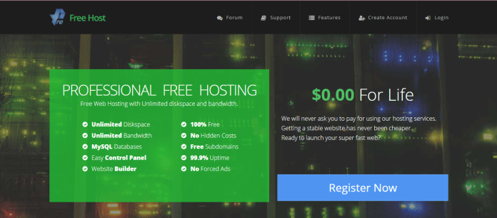 profreehosting