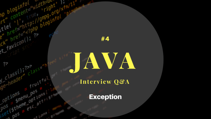 Java Exception Interview Questions