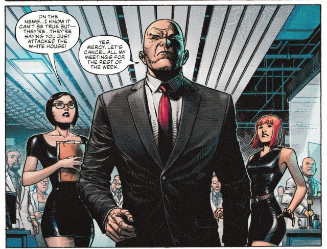 Now Lex Luthor Attacks Donald Trump in DC's Year Of The Villain #1 ...