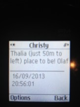 Christy!!! Your phone is not working!