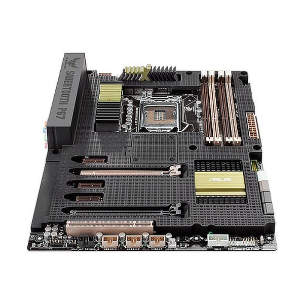 ASUS SABERTOOTH P67 Rev.3.0 LGA 1155 Intel B75 DDR3 ATX Motherboard (90-MIBEDA-G0EAY0KZ)