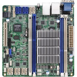 ASRock C2550D4I BGA 1283 Intel C2550 DDR3 Mini ITX Motherboard (C2550D4I)