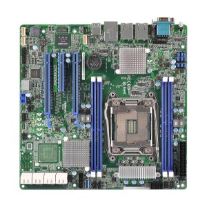 ASRock EPC612D4U LGA 2011 Intel C612 DDR4 Micro ATX Motherboard (EPC612D4U)