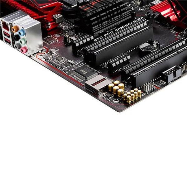 ASUS 970 PRO GAMING/AURA Socket AM3+ AMD 970 DDR3 ATX Motherboard (970 PRO GAMING/AURA)