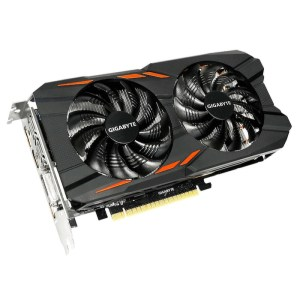 Gigabyte GeForce GTX 1050 Ti WF2 OC 4GB GDDR5 Graphics Card (GV-N105TWF2OC-4GD)